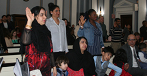 New citizens sworn in